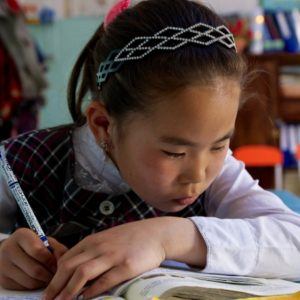 With rapid growth, the Government of Mongolia introduced a number of programs to improve the country's education system, especially rural primary education. Murun County, Mongolia. Photo: Khasar Sandag / World Bank